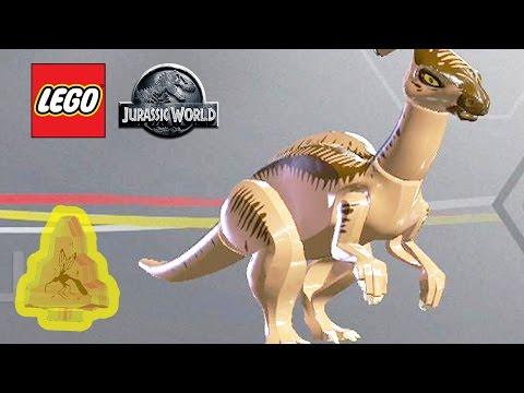 LEGO: Jurassic World - Parasaurolophus Amber Unlocked