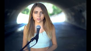 Nightmare by Halsey | acoustic cover by Jada Facer