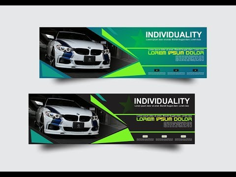 BMW CAR Flex-  Banner Design in CorelDraw X7 with as graphics #6
