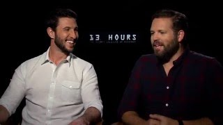 13 Hours - Pablo Schreiber & David Denman Interview