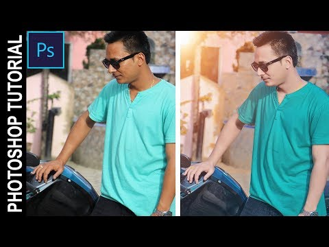 Photoshop Tutorial | Outdoor Portrait Editing In Photoshop