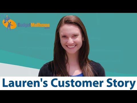 BudgetMailboxes.com | Favorite Customer Story | Lauren