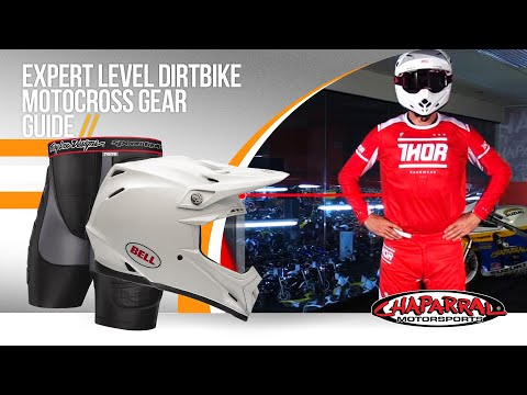 Expert Level Dirtbike Motocross Gear Guide - ChapMoto.com - 2016