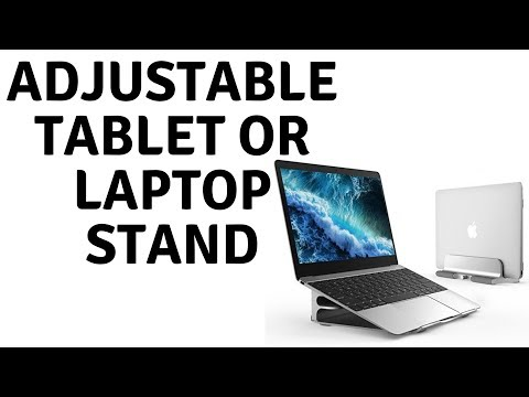Adjustable Tablet or Laptop Stand