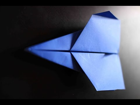 How to make a cool paper plane origami: instruction| Twilight