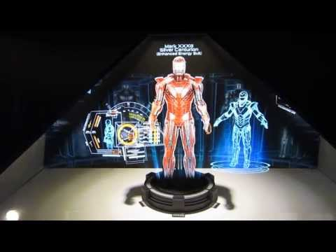 Hot Toys Ironman 3 Holographic Hall of armor Display  ACGHK 2013