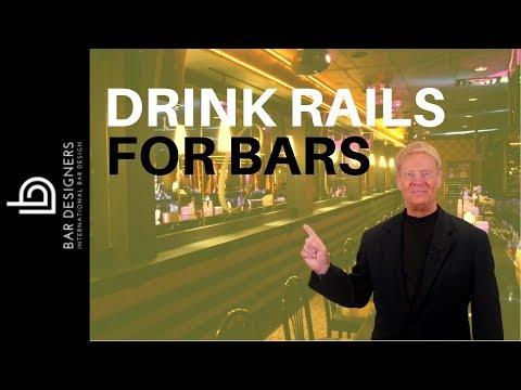 Bar Design Tips - How To Make DIY Drink Rails For Bars