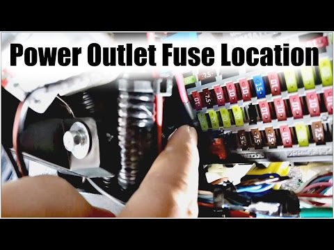 9thgen Honda Accord Power Outlet Fuse Location