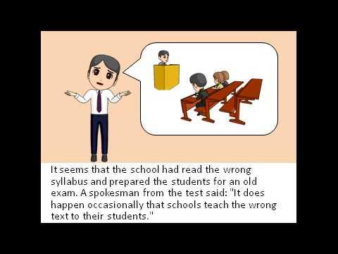Exam trouble