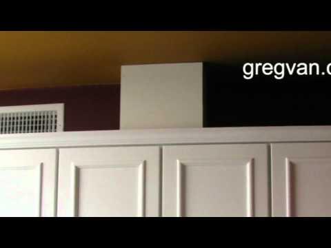 Range Hood Vent And Outlet - Kitchen Cabinet Tips