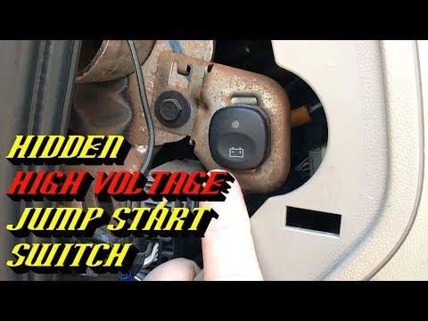2005-2008 Ford Escape Hybrid No Crank No Start: High Voltage Pack Jump Start Procedure