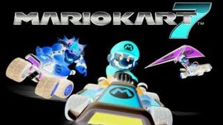 Mario Kart 7 Gameplay With Inverted Colors & Grayscale
