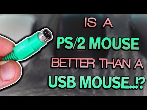PS/2 Vs USB Mouse - Input Lag - Still a VIABLE Option for PC GAMERS in 2018...?!