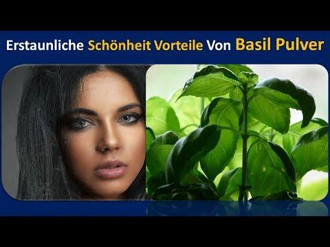 Erstaunliche Schönheit Vorteile von Tulsi Pulver | behandelt Hautprobleme. & Hellt Narben.