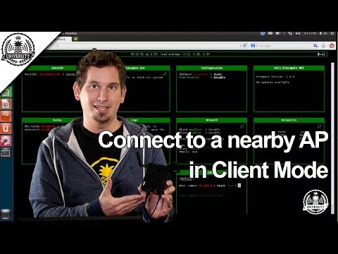 Connect to a nearby AP in Client Mode - WiFi Pineapple Mark V - Pineapple University