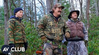 Josh Brolin, Jody Hill, and Danny McBride talk hunting and The Legacy Of A Whitetail Deer Hunter