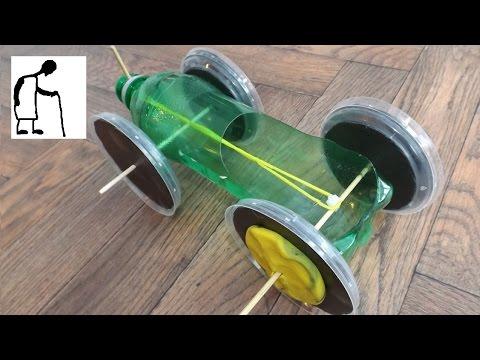 Rubber Band Powered Car for Fononga Fakai