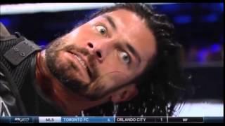 Roman Reigns vs Rusev WWE Smackdown 8/6/2015