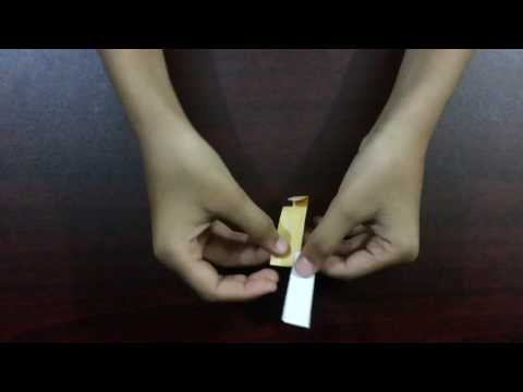How to make a paper helicopter rotor