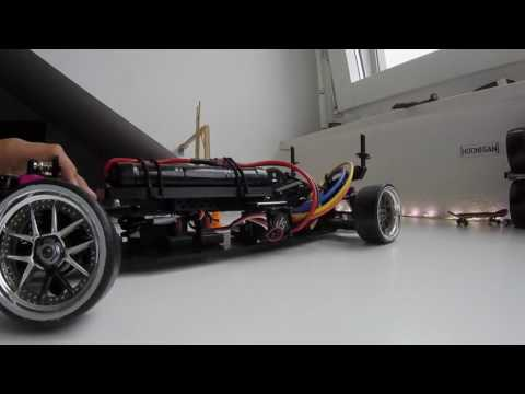 Sakura D4 weight shift! Oversliders battery tray and updated setup