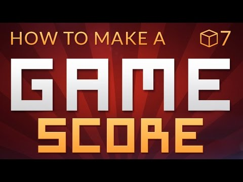 SCORE & UI - How to make a Video Game in Unity (E07)