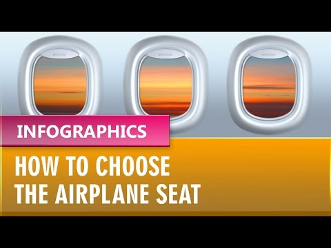 How to choose the airplane seat