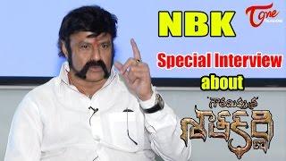 Balakrishna Special Interview    Gautamiputra Satakarni    #GPSK