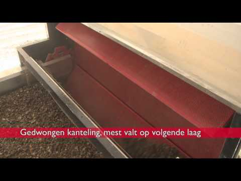 Mest drogen VDL Agrotech mestdroogtunnel PoulDry