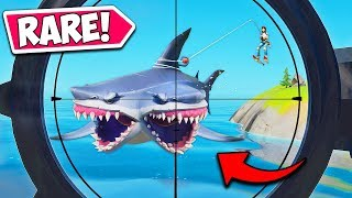 *FIRST EVER* TWO HEADED SHARK IS INSANE!! - Fortnite Funny Fails and WTF Moments! #950