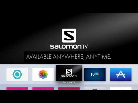 SalomonTV: Available anywhere, anytime.