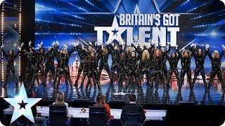 """Refreshingly evil"" dance troupe: The Addict Initiative   Britain's Got Talent 2014"