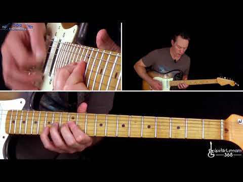Iron Maiden - Run To The Hills Guitar Lesson Pt.2 - Verse, Chorus, Solo