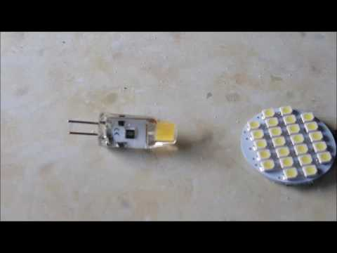 Converting motorhome Lighting from Bulbs to 12v LED's