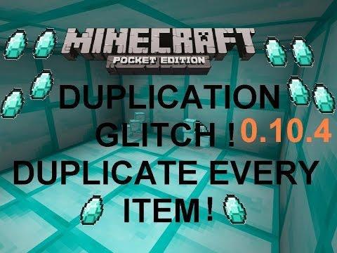 [MCPE 0.10.4]DUPLICATION GLITCH ! DIAMONDS, TNT,... DUPLICATE  EVERY ITEM !  | MINECRAFT PE