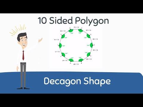 Decagon Shape | Polygon Shape |