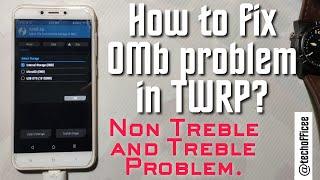 FIX Internal Storage 0MB Problem - Fix Unable To Mount System