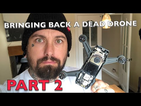 BRINGING A DEAD DRONE BACK TO LIFE - PART 2 - DJI SPARK - RIVER FIND