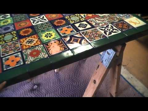 Sal Romito   tiled table part 10