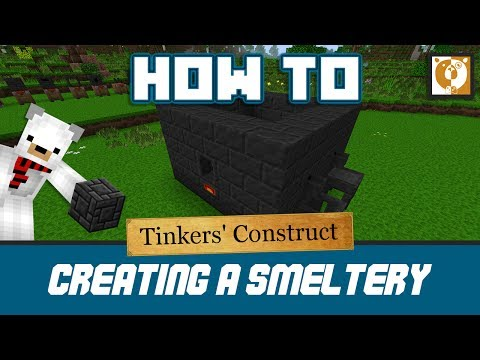 How to make a smeltery - Tinkers' Construct [Minecraft 1.10.2] - Bear Games How To
