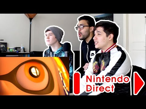 Nintendo Direct Live Reaction 3.8.2018 (Feat MunchingOrange & PokeCinema)