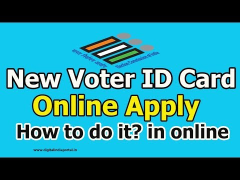 New Voter ID Card Online Application For All States