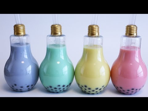 How to make Bulb Bubble Coconut Juice