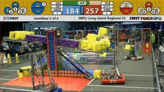 Semifinal 2 - 2018 SBPLI Long Island Regional #2