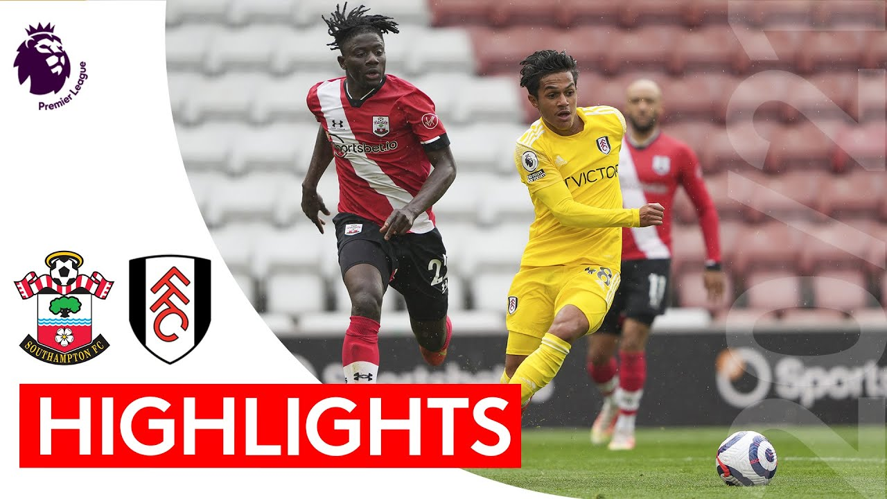 Southampton 3-1 Fulham | Premier League Highlights | Fabio Carvalho bags debut goal at St Mary's