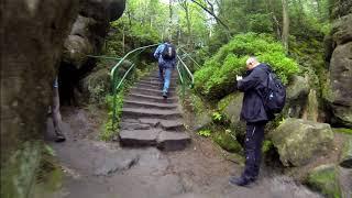 Szczeliniec Wielki GO PRO szlak z Pasterki 4K