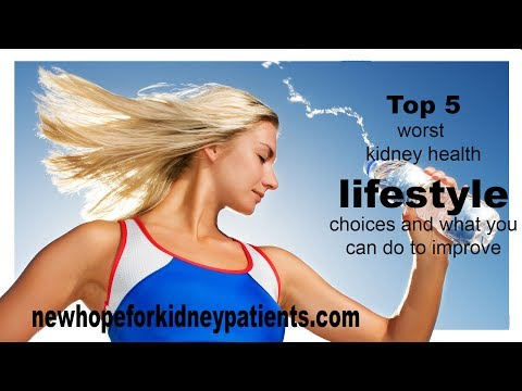 Top 5 Worst Kidney Health Lifestyle Choices and What You Can Do to Improve