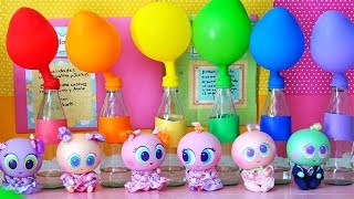 Learn Colors With Balloons and Nursery Rhymes Johny Johny Yes Papa at the Distroller Toddlers School