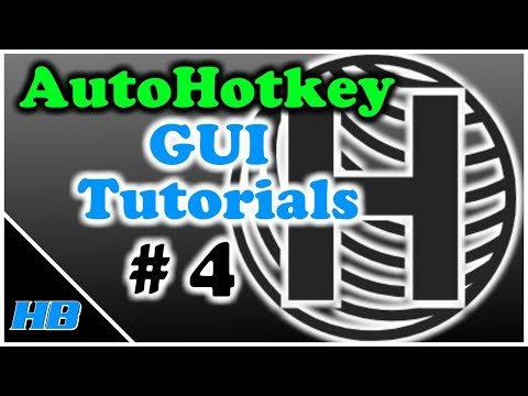 AutoHotkey Gui Tutorial #4 (The Radio Button (Part 1))