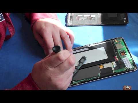 Nexus 7 Charging Port Fix replacement, repair guide for 1st gen - Repairs UK