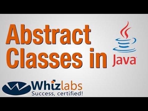 Abstract Classes in Java   SCJP 6 / OCJP 6 Certification